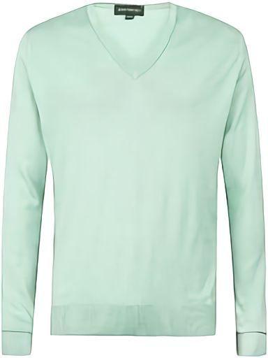 Cotton V-neck Sweater(コットンVネックセーター)