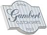 Gambert Custom Shirt(ギャンバート・カスタム・シャツ)のボタンダウンシャツ