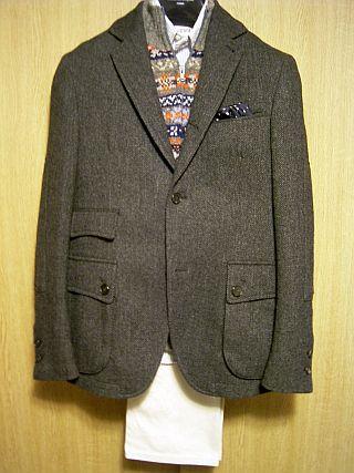 Hyperion 3-button Tweed Jacket CKJ1021-012