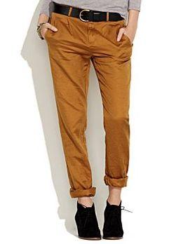 Rolled Up Pants(ロールアップ・パンツ)